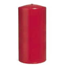 16 candele rosso 12 x 6