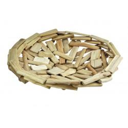 Piatto in legno 43x10cm
