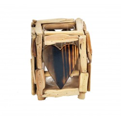 Porta candele 15x15x19cm