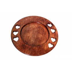 Piatto in legno 33cm