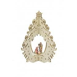 Addobbo natalizio con S.Famigilia 16805