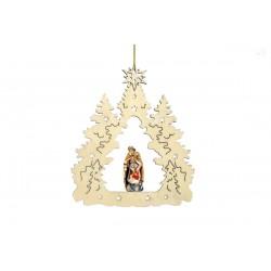 Addobbo natalizio con S.Famigilia 17006