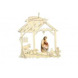 Addobbo natalizio con S.Famigilia 17021