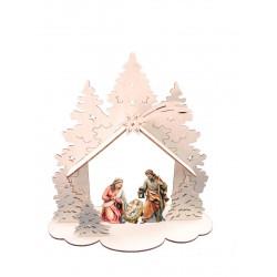 Capanna con S. Famiglia 16805