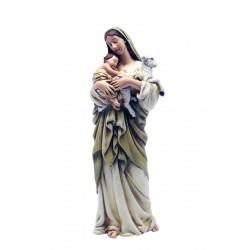 Madonna con bambino e pecora