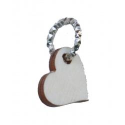 Charm cuore 12 pezzi