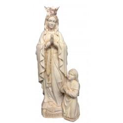 Madonna di Lourdes con corona e Bernardette
