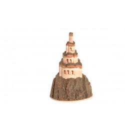 Castello di Coira 10x6,5x6,5cm