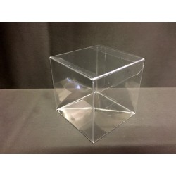 Scatola pvc trasparente CM 15x15 H 15