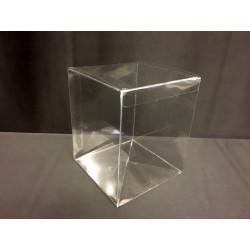 Scatola pvc trasparente CM 12x12 H 15