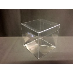 Scatola pvc trasparente CM 12x12 H 12