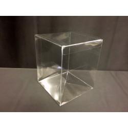 Scatola pvc trasparente CM 10x10 H 16