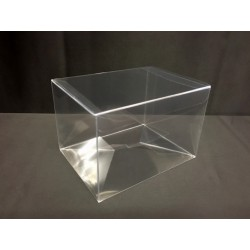 Scatola pvc trasparente CM 10x10 H 8