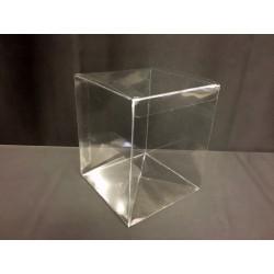 Scatola pvc trasparente CM 9x9 H 12
