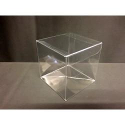 Scatola pvc trasparente CM 8x8 H 9