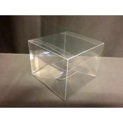 Scatola pvc trasparente CM 8x8 H 6