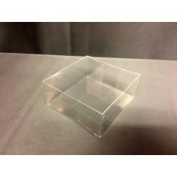 Scatola pvc trasparente CM 8x8 H 3.5