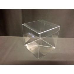 Scatola pvc trasparente CM 7x7 H 7