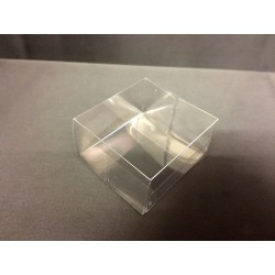 Scatola pvc trasparente CM 6x6 H 3