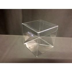 Scatola pvc trasparente CM 4x4 H 4