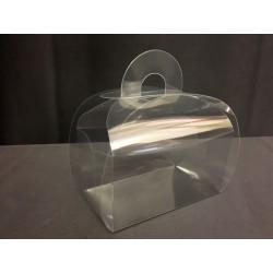 Scatola pvc trasparente tipo portatorta CM 8x5 H 10