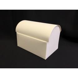 Scatola cartoncino forma bauletto CM 13x9 H 9.5