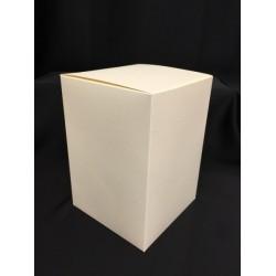 Scatola cartoncino astuccio avorio CM 14x14 H 20