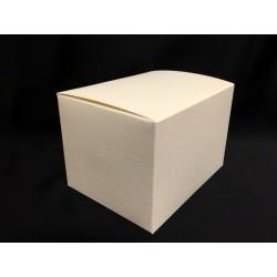 Scatola cartoncino astuccio avorio CM 12x9 H 8