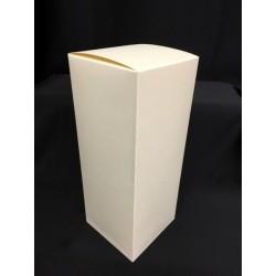 Scatola cartoncino astuccio avorio CM 8x8 H 25