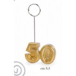 Memo clip resina 50°. CM 8.5