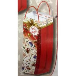 Borsa shopper natalizia. Ass.2 CM 14x6 H 39