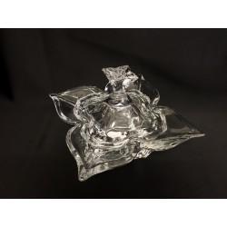 Ciotola con coperchio in vetro. CM 14x14 H 12