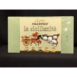 Confetti cioccomandorla, gusto mix dolci tipici siciliani. KG 1