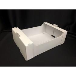 Cassetta cartone bianco CM 20x15 H 6