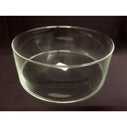 Vaso vetro rotondo Diam. 25 H 8