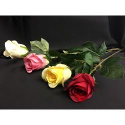 Rosa artificiale CM 70. Ass 4 colori
