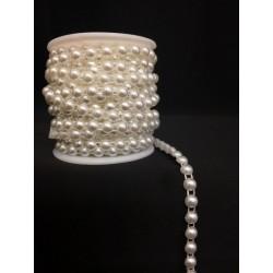Nastro filo mezze perle Diam. 0.5 mm. MT 10