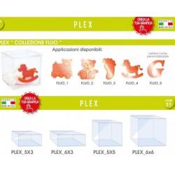 Scatola plexiglass varie misure con applicazione