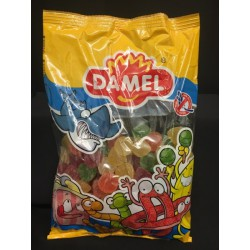 Caramelle gommose multicolor ricoperte zucchero. KG 1