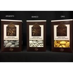 Confetti cioccolato fondente, colori perlati. GR 500