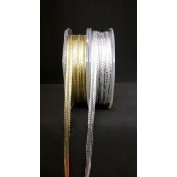 Nastro lame oro o argento. MM 3 MT 25