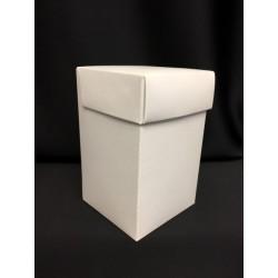 Scatola bianca cartoncino 7x7 H 11