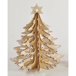 Albero natalizio in legno Diam. 12 H 16