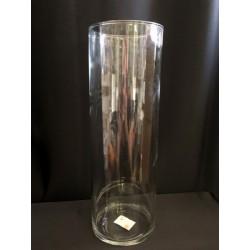 Vaso vetro cilindro H 30 Diam 10