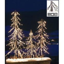Albero con 176 luci LED, luce calda, cavo 5 m, H 180.