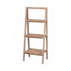 Espositore a piani in legno. CM 51 H 127
