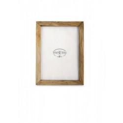 Portafoto legno naturale. 15x22 interno