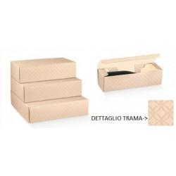 Scatola cartoncino matalassè nudo portabottiglie. CM 34x28 H 9