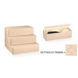 Scatola cartoncino matalassè nudo portabottiglie. CM 34x18.5 H 9