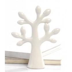 Albero porcellana bianco CM 9